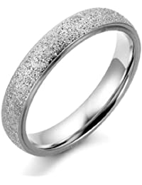 Wechselring Doppel Ring Edelstahl Zirkonia Perlmutt Blumen Design Farbe wählbar