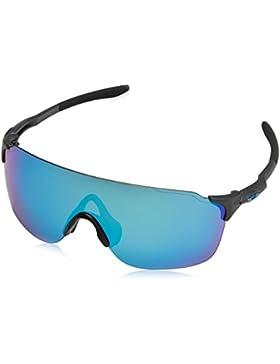 Oakley Evzero Stride, Gafas de Sol para Hombre, Steel, 38