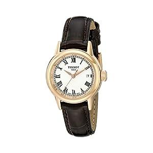 Tissot T0852103601300 – Reloj de Pulsera Mujer, Color Marrón