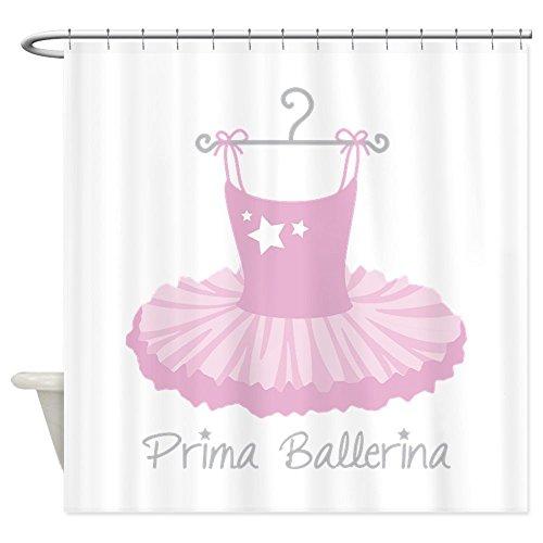 Prima Ballerina Dusche Vorhang–Dekostoff Vorhang für die (Professionelle Tutu Ballett Kostüme)