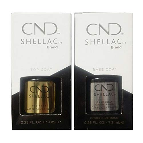 CND Original Shellac Base Coat plus Top Coat (2 x 7.3 ml) -