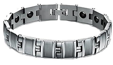 SaySure- 12MM Wide Anti Fatigue Fashion Health Care Bracelets