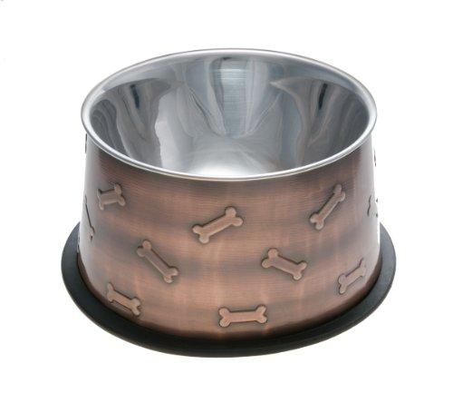 loving-pets-artistic-no-tip-pet-bowl-medium-antique-copper-black