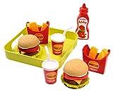 ECOIFFIER 100% Chef Vassoio set hamburger (2015) 7600000957