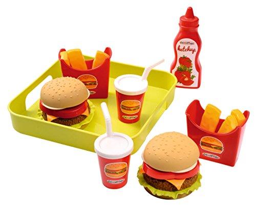 ECOIFFIER 4550957 Cocina y comida Estuche de juego juguete de rol para niños - juguetes de rol para niños (Cocina y comida, Estuche de juego, 1,5 año(s), Niño/niña, Multicolor, 200 mm)