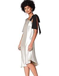 FIND Robe Midi Asymétrique Femme