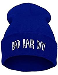 Bad Hair Day Winter Hat for Men and Women Unisex One Size