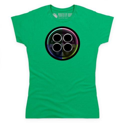 evo Exhaust T-Shirt, Damen Keltisch-Grn