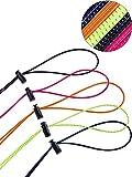 LEEQ 10Set Bungee Cord Strap Kit, Include Adjuble Ricambio Cinghie con Corda di Blocco Morsetto per occhialini da Nuoto Anti Fog Corse occhialini da Nuoto, Modello per Bambini