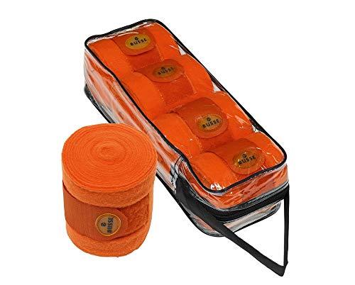 Busse Bandagen SEASON, 350x12, orange (Orange Schabracke Horse)