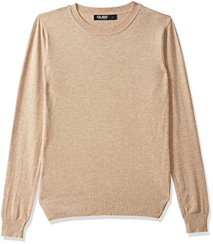 Qube By Fort Collins Women's Sweater (CH101_Apricot_L)