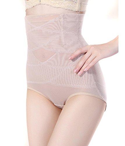 Junlan Invisable Strapless Body Shaper High Waist Tummy Control Panty Slim Butt Lifter