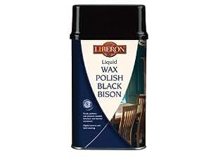 Liberon Cire liquide polonais Bison Noir Neutre 5l libbblwn5l