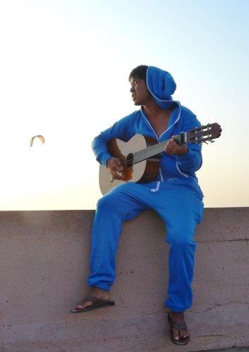 Moniz Herren Jumpsuit Blau