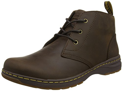 Dr. Martens Men's Emil Dark Brown Republic Chukka Boots, Brown (Dark Brown),...
