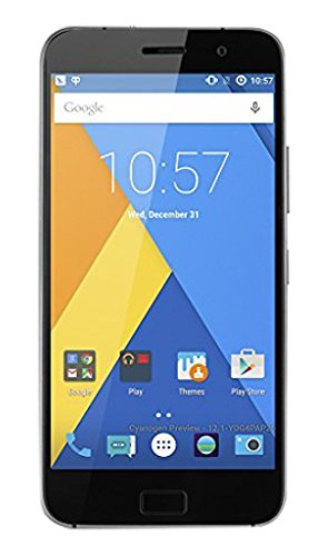 Lenovo ZUK M0K90002DE Z1  Smartphone 4G 5.5 Zoll IPS Bildschirm Cyanogen OS 12.1 USB3.0 Typ-C Steckverbinder Qualcomm Snapdragon 801 2.5GHz Doppel Kameras Fingerabdruck Identifikation 64GB space grau