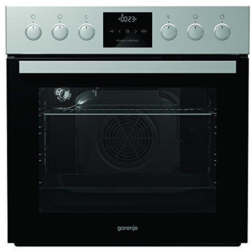 Gorenje BC 635 E19X-2 Herd Elektro / A /Backmuffe Homemade 67 L / Edelstahl / Icon LED / versenkbare Knebel / AquaClean / Ant-Fingerprint