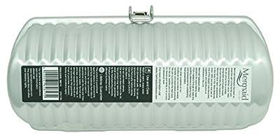 Mermaid M8719 Milk Loaf Tin Ridged Cylinder Hard Anodised Aluminium Cake Mould