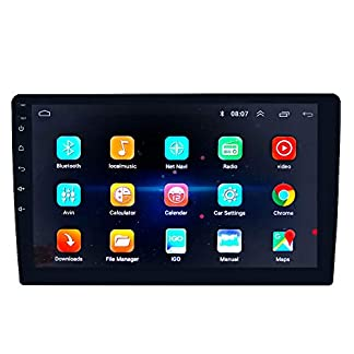QWERDF-2-Din-101-Zoll-HD-Quad-Core-in-Dash-Android-81-Universal-Autoradio-GPS-Navigation-mit-WiFi-Bluetooth-Touchscreen-Multimedia-MP5-Player-FMAM-Mirror-Link