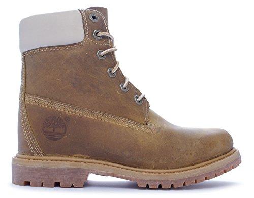 Timberland EK 6in Premium Wedge Golden Beige C8229A, Boots Beige (Golden Beige)