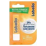 Labello Sun Protection Balsamo Labbra, Formula senza Oli Minerali e Parabeni, 24h di Idratazione, Fattore di Protezione Solare 30