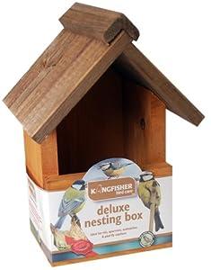 Kingfisher BF017HD Deluxe Bird Box from Bonnington Plastics Ltd
