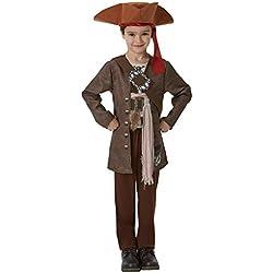 Disfraz de pirata Jack Sparrow para niño, M.