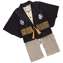 zhxinashu Infantil Mono Bebé Algodón Kimono - Las Niñas de Manga Larga Mameluco Chicos Estilo Japonés