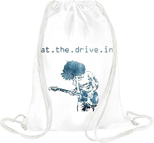 At The Drive In Drawstring bag