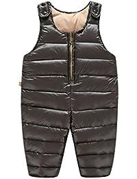 YOUJIA Enfant Bébé Salopette - Uni - Pantalon Combinaisons de neige Manteaux Outerwear