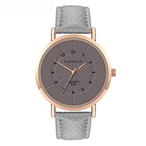 friendGG Frauen Damenuhr Edelstahl Analog Quarz Kleid Armband Armbanduhr Geschenk Neu Damen Uhr Uhren Watch Casual üBerwachung Analoge Uhrenarmband Armbanduhren