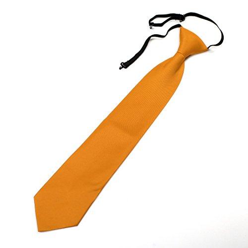 DGDE.03 Kid solide microfibre Gilet correspondants cravate ?ge 6-16 par Dan Smith DGDE0012-Or
