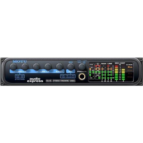 Motu Audio Express Interfaccia Audio 6X6 Hybrid FW/Usb2 usato  Spedito ovunque in Italia