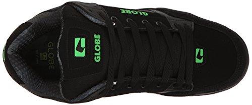 Globe Tilt Cuir Chaussure de Basket Black-Camo-Moto Green