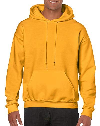 Gildan Heavy Blend Hooded Sweatshirt GD57 XXL Gold
