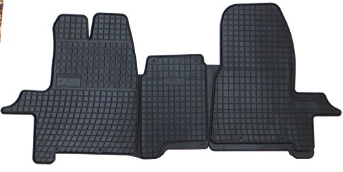 Gummimatten Autofußmatten Fußmatten exakter Passform 3-teilig FO-TP-D00312