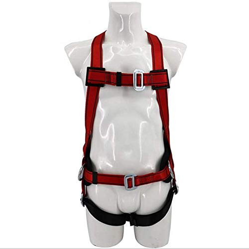 MYLW Imbracatura anticaduta Cintura di Sicurezza Anticaduta Industriale UniversaleDoppio Dorso Dispositivi di Protezione Individuale Multifunzionali