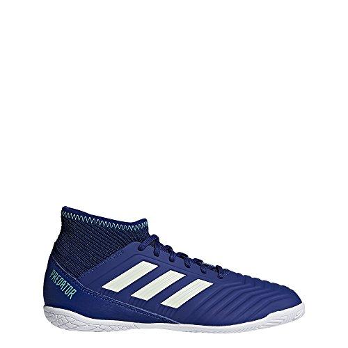 adidas Predator Tango 18.3 in J, Scarpe da Calcetto Indoor Unisex-Bambini, Blu (Azul/(Tinuni/Aerver/Vealre) 000), 28 EU