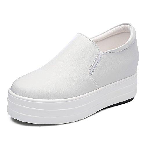 Chaussures de l'automne/Augmenter les chaussures des femmes/thick-soled noirs chaussures/Les souliers/Le Fu, chaussures confortables/Chaussures enfants A