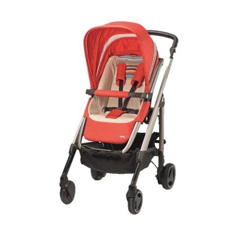 Bébé Confort Loola - Cochecito de bebé rojo rosso