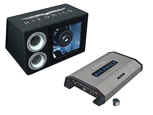 mit 1000 Watt Bandpass Subwoofer ATL 12 BPS und 2 Kanal Endstufe TSI-600.2 (Auto Bass Paket)