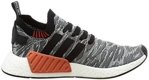 Adidas Nmd_r2 Pk, Sneaker Uomo Nero (noyau Noir / Noyau Noir / Chaussures Blanc)