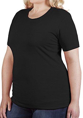 Bio T-Shirt Damen Schwarz