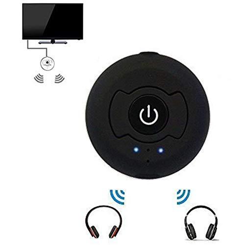 TOOGOO Portable TV Bluetooth 4.0 A2Dp Transmetteur Audio Stéréo Support RCA / 3.5mm Couplage Simultané de Deux Casques pour TV Pc Lecteur de CD Fire Ipod MP3 / MP4 Etc.