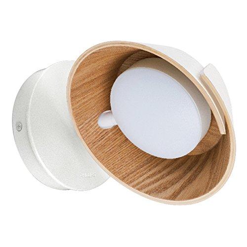Philips 49022 Embrace Wall Lamp (White) Wall Lights at amazon