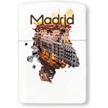 PC Hardware Store Madrid Series Theme Viva Espanol Football Encendedor De Gasolina
