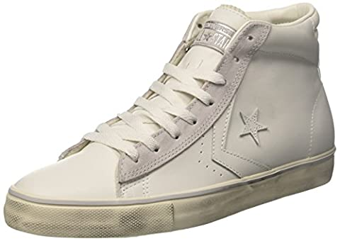 Converse Pro Leather Mid, Sneakers Homme, Blanc (Star White/Mouse/Turtledove), 37 EU