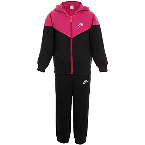Nike - Chándal infantil negro rosa y negro Talla:12/18 meses