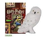 Harry Potter und der Stein der Weisen (Band 1, Taschenbuch) + Hedwig Plüscheule