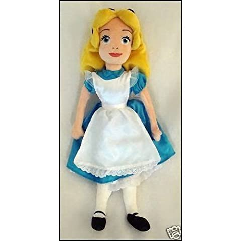 Oversized Hard to Find Disney Alice in Wonderland 20 Alice Plush Doll MINT by Disney